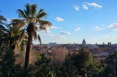 Roma desde la Villa Borghese