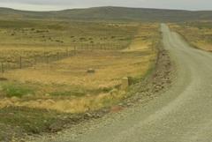 El eterno camino de ripio chileno