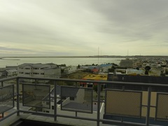 Vista de la ciudad desde el hotel