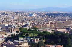 Roma vista desde la Basílica de San Pedro