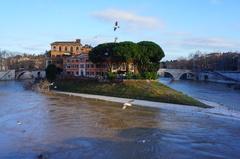 Río Tíber, Roma