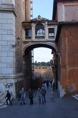 Callejón bajo la Plaza Capitolio, Roma