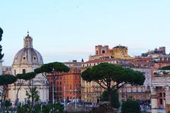 Vista de Roma desde el Foro Romano