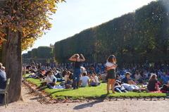 Jardines de Luxemburgo, París