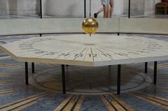 Péndulo de Foucault, Panteón de París