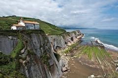 Acantilados en el País Vasco