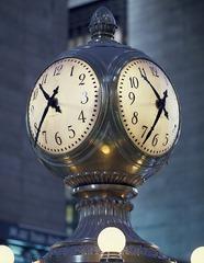 Reloj en Nueva York