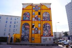Mural a Diego Rivera en Lyon