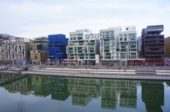 Complejo de edificios en Confluences, Lyon