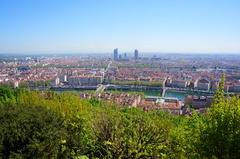 Vista de Lyon desde Fourvière