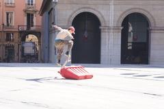 Skaters en Lyon