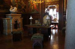 Interiores del Castillo de Neuschwanstein, Alemania