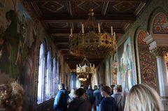 Pasillos del Castillo de Neuschwanstein, Alemania