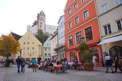 Calles de Füssen, Alemania