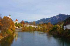 Los Alpes junto a Füssen, Alemania