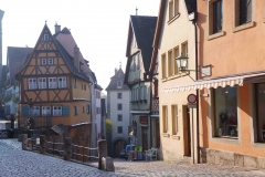 Vista del Plönlein en Rothenburg