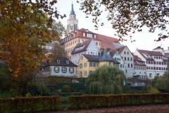 Torre Hölderlinturm en Tübingen