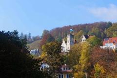 Castillo de una fraternidad de la Universidad de Tübingen