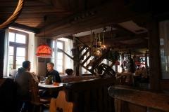 Interior de una taberna en Tübingen