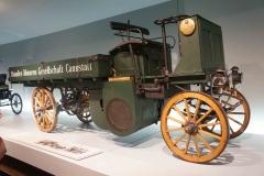 Antiguo coche, Museo Mercedes-Benz, Stuttgart