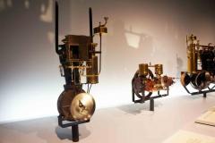 Antiguos motores, Museo Mercedes-Benz, Stuttgart