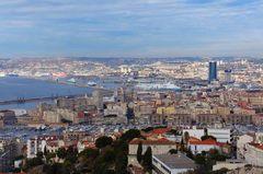 Vista de Marsella desde Notre-Dame de la Garde