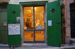 Galerías en el Barrio Le Panier, Marsella