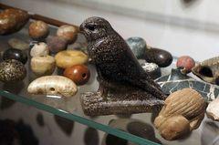 Figurilla mítica en el Museo Egipcio de Turín