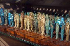 Reliquias en el Museo Egipcio de Turín