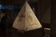 Obelisco en el Museo Egipcio de Turín