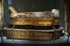 Sarcófago en el Museo Egipcio de Turín