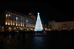 Navidad en la Piazza Castello, Turín