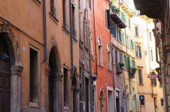 Calles del centro histórico de Verona