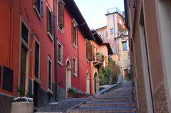 Escaleras al Castillo de San Pedro, Verona