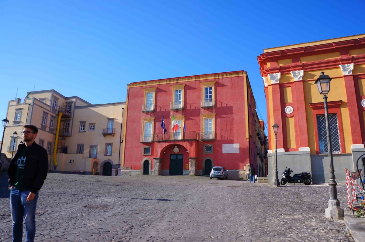 Rione Terra, en Pozzuoli, Nápoles
