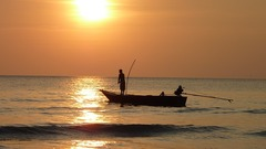 Pescadores de Tailandia