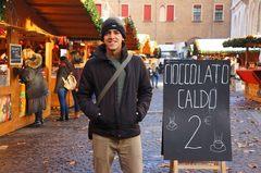 Mercado de Navidad en Bolonia