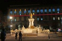 Plaza Plebiscito en Nápoles