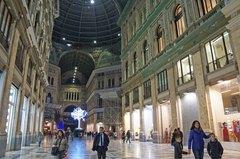 Galería Umberto I en Nápoles