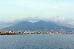 Monte Vesubio en Nápoles