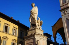 Estatua renacentista en Florencia