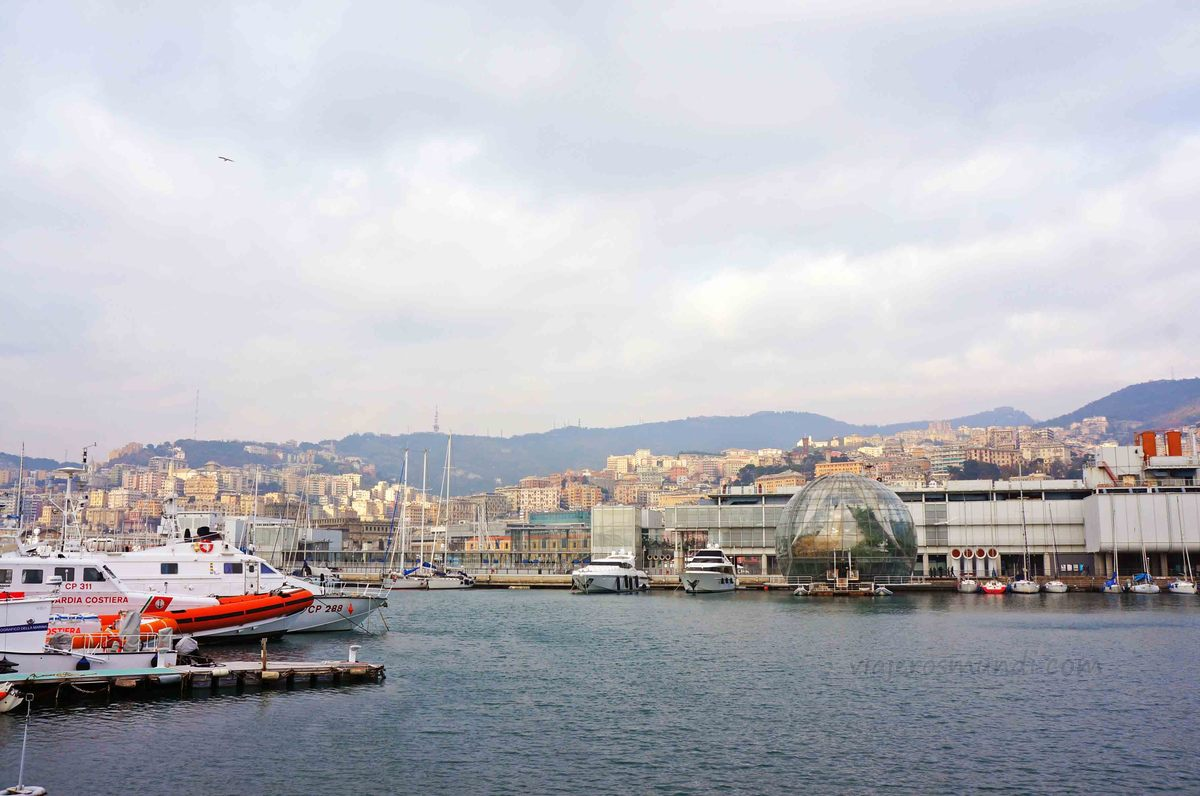 Puerto viejo de Génova