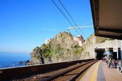 Vías férreas de Cinque Terre, Italia