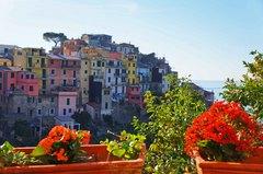 Vista de Corniglia, Cinque Terre