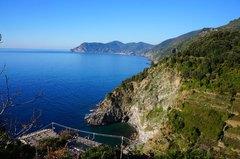 Costa de Cinque Terre, Italia