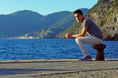 Costa de Cinque Terre desde Vernazza