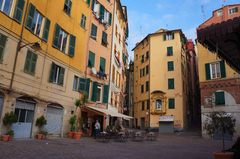 Calles del centro de Génova