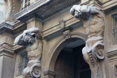 Calles del centro histórico de Génova