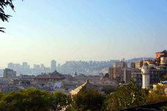 Vista de Génova desde la Villeta di Negro