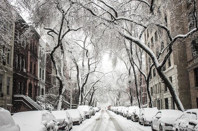 Nieve en navidad